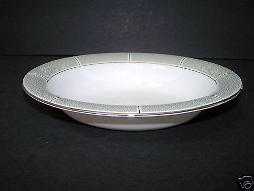 WEDGWOOD Shagreen Jade Open Oval Vegetable Bowl New