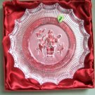 WATERFORD Christmas Crystal Plate St Nicholas 2006 NIB