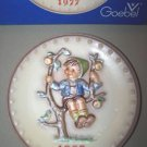 Hummel Goebel Apple Tree Boy Annual Plate 1977 MIB