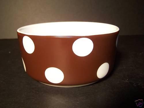 LENOX Sag Harbor Chocolate Fruit Bowl KATE SPADE New