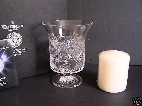 WATERFORD Times Square Joy Vase/Hurricane 2009 NIB