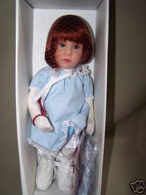 GOTZ (Goetz) Mizzi Doll 11 inches Limited Edition NIB