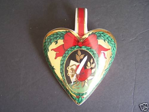 ROYAL COPENHAGEN 2008 Hearts of Christmas Ornament NIB