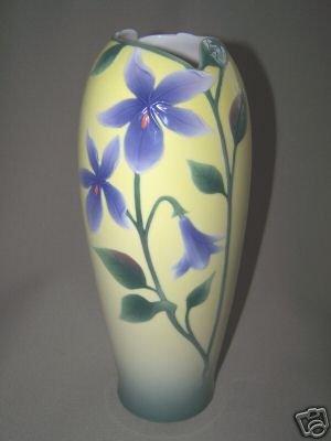 FRANZ Porcelain Shrimp Plant Design Tall Vase New