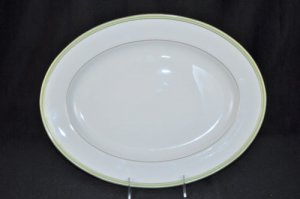 WATERFORD Fine China Golden Apple Oval Serving Platter New