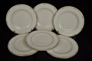 ROYAL DOULTON Charms Bread and Butter Plates Set/6 by Monique Lhuillier New