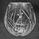 "WATERFORD Clear Crystal Fathom Bouquet 8"" Vase Michael Aram New"