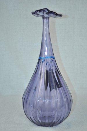 MURANO Art Glass Lavender Fiorellini Vase by FORMIA Italy New