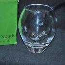 LENOX Pleasant Hill Bouquet Edesia Clear Crystal Vase Kate Spade NIB