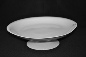 PORTMEIRION China Liquid Cake Plate Stand Footed New