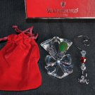 WATERFORD Crystal Christmas Lismore Toasting Flute Ornament  NIB