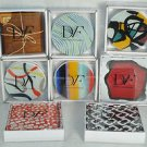 DIANE VON FURSTENBERG DVF Home Coasters Set/4 Assorted NIB