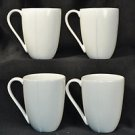 DIANE VON FURSTENBERG DVF Home Pebblestone White Mugs  Set/4  New
