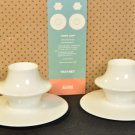 ALESSI Supa Mocha Espresso Demitasse Cup and Saucer Set/2  by Tom Kovac NIB