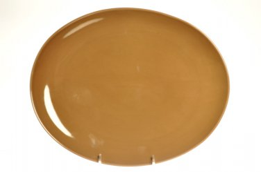 "NAMBE Butterfly II Espresso Oval Serving Platter  14"" New"