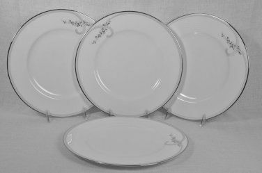 WATERFORD China Ballet Jewels Dinner Plate Set/4 New