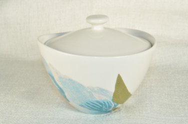 DIANE VON FURSTENBERG DVF Home Batik Floral Sugar Bowl New