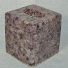 LABRAZEL Pebble Amethyst Marble Tissue Box Cover Hand Made Italy New