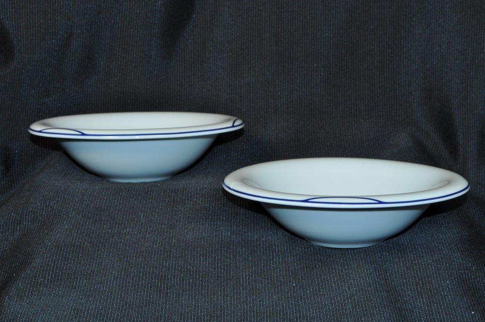 "ALESSI Hikuri Soup Bowl 7.4"" by Guido Venturini Set/2 New"