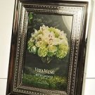 "VERA WANG With Love Silver Plated Picture Photo Frame 4"" x 6"" NIB"