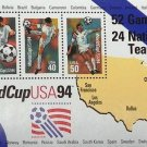 Scott # 2837 WorldCup USA '94 3 of 29¢, 40¢, 50¢