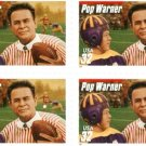 Scott #3144 Pop Warner stamp block of 4 x 32¢