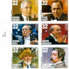 Scott #3158- 3165  Classical Composers & Conductors stamp block of 10 x 32¢