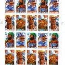 Scott #3086a Folk Heroes sheet of 20 x 32¢