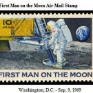 Scott #C76 First Man on the Moon - Air Mail 10¢