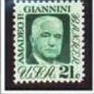 Scott #1400 Amadeo P. Giannini - single stamp 21¢