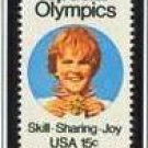 Scott #1788 Special Olympics – Skill Sharing Joy single stamp 15¢