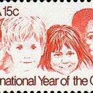 Scott #1772 INTERNATIONAL YEAR OF THE CHILD – 1979 single stamp denomination 15¢