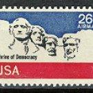 Scott # C88 Mount Rushmore – 1976 single AIR MAIL stamp denomination 26¢