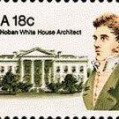 Scott #1935 JAMES HOBAN – White House Architect 1981 single stamp denomination: 18¢