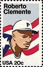 Scott # 2097 ROBERTO CLEMENTE 1984 single stamp denomination: 20¢