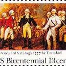 Scott #1728 SURRENDER OF SARATOGA - American Bicentennial 1977 single stamp denomination: 13¢