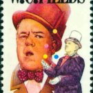 Scott #1803 W.C. FIELDS - Performing Arts 1980 single stamp denomination: 15¢