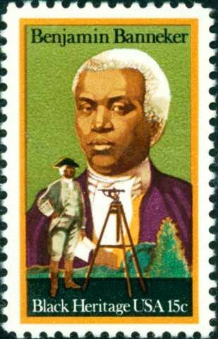 Scott #1804 BENJAMIN BANNEKER - Black Heritage 1980 single stamp denomination: 15¢