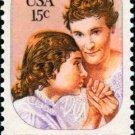 Scott #1824 HELEN KELLER – ANNE SULLIVAN 1980 single stamp denomination: 15¢