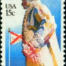 Scott #1826 BERNARDO DE GALVEZ – Battle of Mobile 1980 single stamp denomination: 15¢