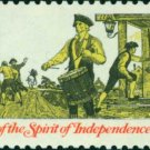 Scott #1479 AMERICAN BICENTENNIAL - Drummer 1973 single stamp denomination: 8¢