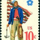 Scott #1566 CONTINENTAL NAVY 1975 single stamp denomination: 10¢