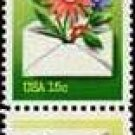 Scott #1810a NATIONAL LETTER WRITING WEEK 1980 strip of 6 stamps denomination: 15¢