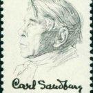 Scott #1731 CARL SANDBURG 1978 single stamp denomination: 13¢
