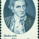 Scott #1732 Captain James Cook 1977 single stamp denomination: 13¢