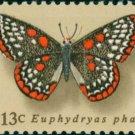 Scott #1713 Butterflies 1977 single stamp denomination: 13¢
