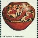Scott #1706 AMERICAN FOLK ART - Zia pot 1977 single stamp denomination: 13¢