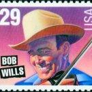 Scott #2774 BOB WILLS - American Music Series 1993 single stamp denomination: 29¢