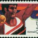 Scott # C105 1984 SUMMER OLYMPICS single airmail stamp denomination: 40¢
