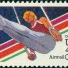 Scott # C106 1984 SUMMER OLYMPICS single airmail stamp denomination: 40¢